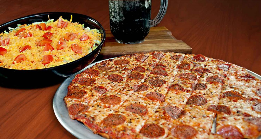 Family Pleaser - Pizza, Salad, and Soft Drink