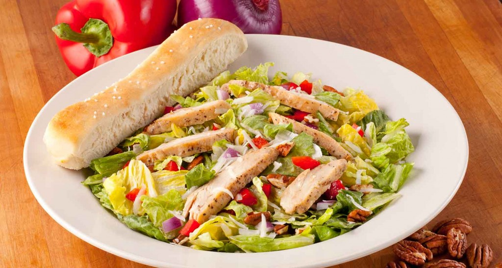 Pecan Grilled Chicken Salad