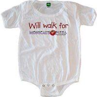 Monical's White Baby Onesie