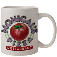 Monical's White Coffee Mug