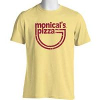 Monical's Retro Logo Yellow T-Shirt