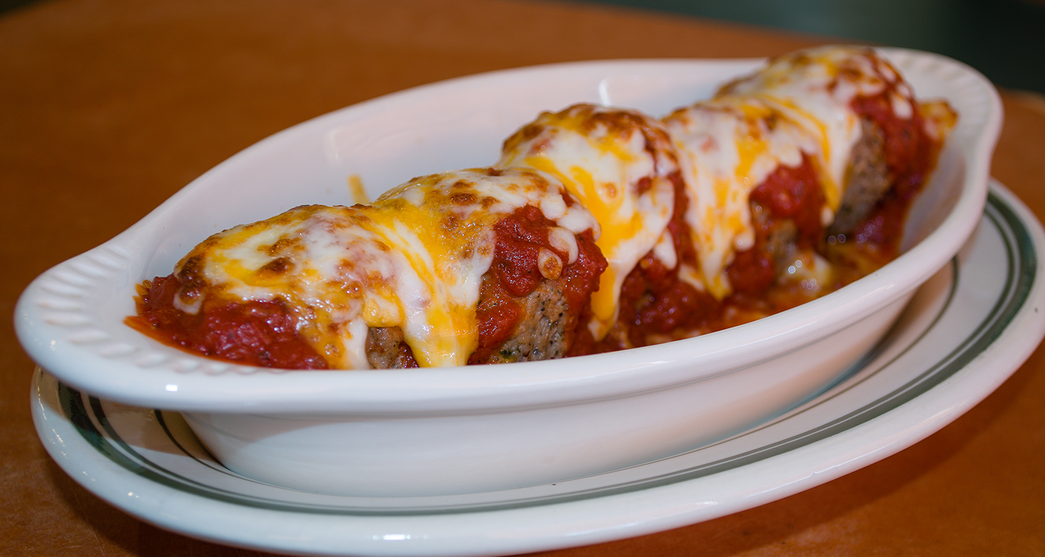 Photo of Monical's meatball appetizer