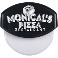 Black Monical's Pizza Cutter